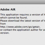 Unable to install or uninstall Adobe AIR?