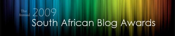 SA Blog Awards 2009