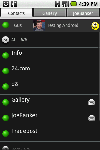 Exclusive Mxit Android Screenshots 187 Web Addict S