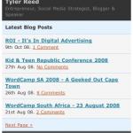 MobilePress – Make your WordPress blog mobile friendly