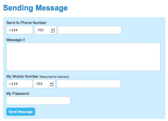 SMS Volt - Nigeriaa Free SMS service