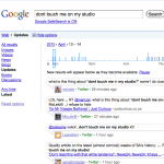 Google Replay – See how a story broke on twitter