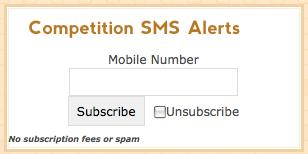 Wordpress SMS widget