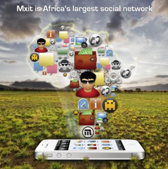 MXit Number 1 in Africa and Number 1 here