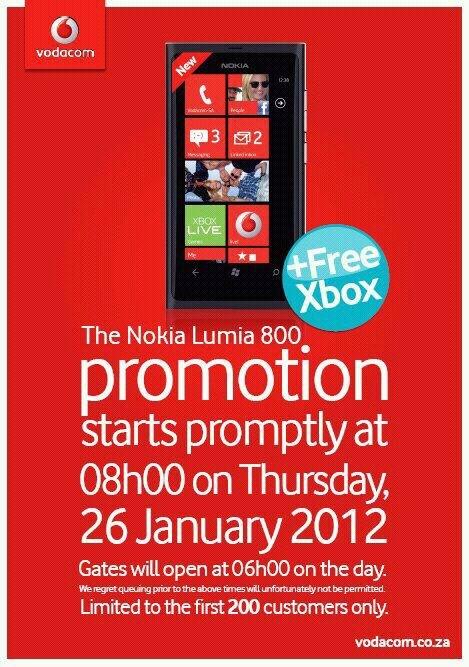 Nokia Lumia 800 promo