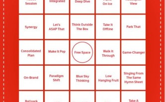 Marketing Boardroom Bingo