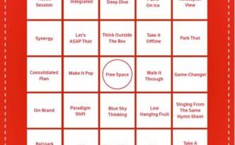 Marketing Boardroom Bingo