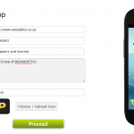 goesApp: A Simple Way to Create Mobile Apps based on Websites
