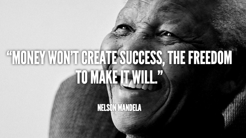 Nelson Mandela Success Quote