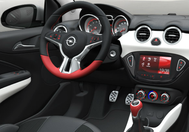 Opel Adam launch inside
