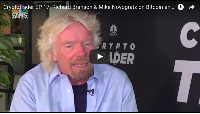 Sir Richard Branson talks Bitcoin on CNBC Africa