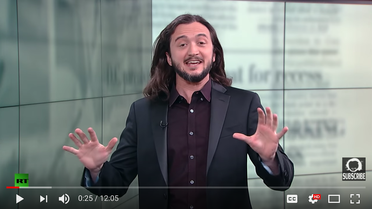 The Bitcoin Revolution - Lee Camp - Redacted Tonight