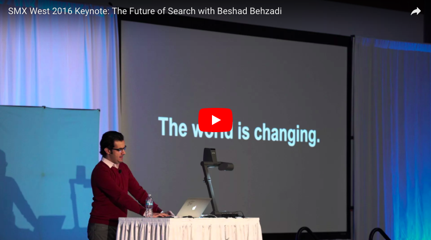The Future of SEO (video) = The Future of User Interface Design